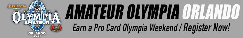 Amateur Olympia Orlando