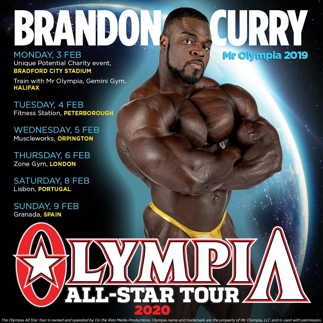 Mr Olympia European Tour Olympia Weekend