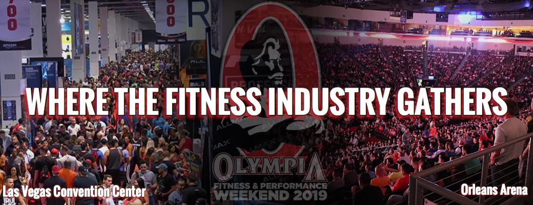 2019 Joe Weider's Olympia Weekend - новые партнеры и новый взгляд